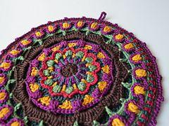 Ravelry: Kaleidoscope Mandala Potholder pattern by Tatsiana Kupryianchyk
