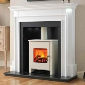 Flamerite Aubade with Electric Tennyson Stove Suite