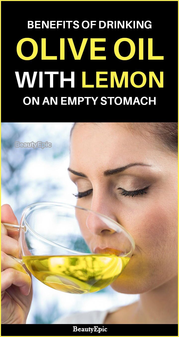 Benefits Of Olive Oil And Lemon On An Empty Stomach