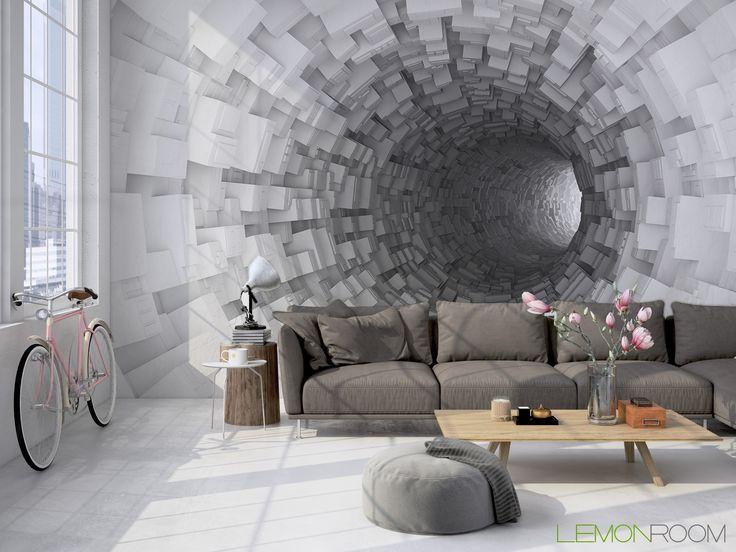 Fototapeta przestrzenna tunel  >> http://lemonroom.pl/fototapeta-0-wyniki-wyszukiwania-93896405-Digital-d-illustration-white-bent-tunnel.html  #fototapety #fototapeta #fototapety3D #Design #WystrójWnętrz #inspiracje #Dekoracje #Wnętrza #Aranżacje #Wnetrza #wystrojwnetrz #InteriorDesign #HomeDecor #Decorating #WallDecor #WallArt #Wallmurals #murals