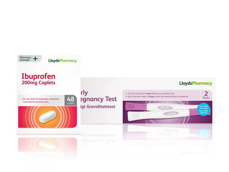 LLoydspharmacy OTC Packaging Design