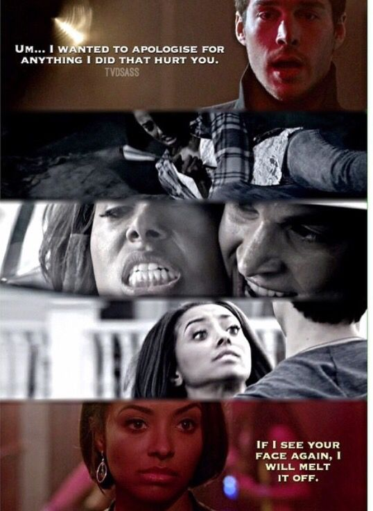 """#TVD 6x16 """"The Downward Spiral"""" - Kai and Bonnie"""