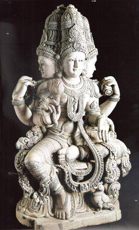 Resultado de imagen para brahma escultura
