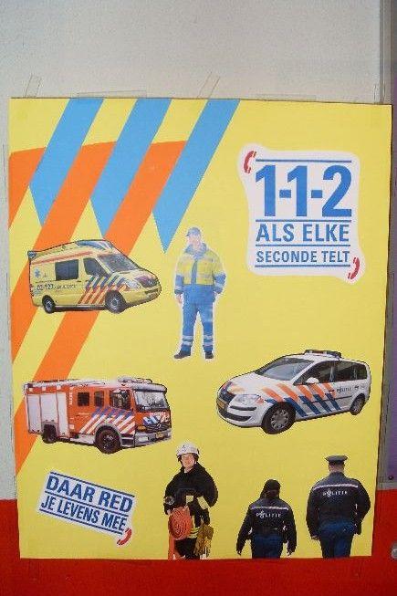Website: vervoer politie - jufleonie.com met thema 112