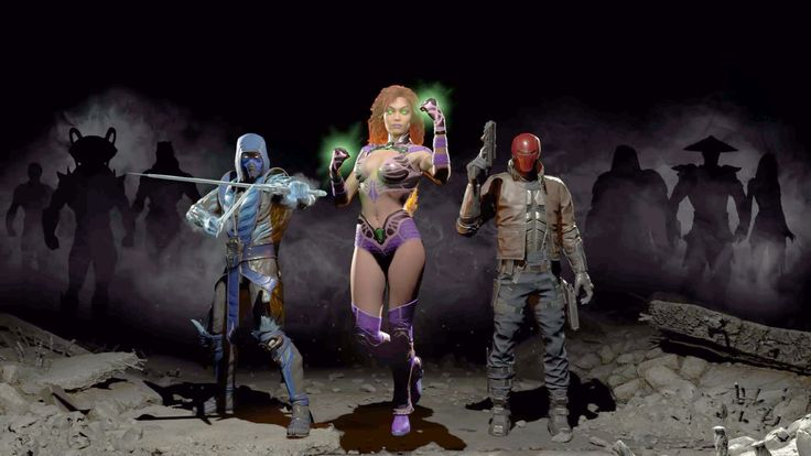 Sub-Zero, Red Hood and Starfire coming to Injustice 2 - Polygonclockmenumore-arrowpoly-lt-wire-logo : Raiden and Black Manta, too?