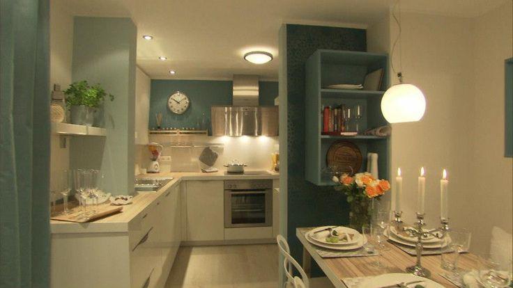 25 melhores ideias sobre k che t rkis no pinterest cozinha turquesa cores da parede da. Black Bedroom Furniture Sets. Home Design Ideas