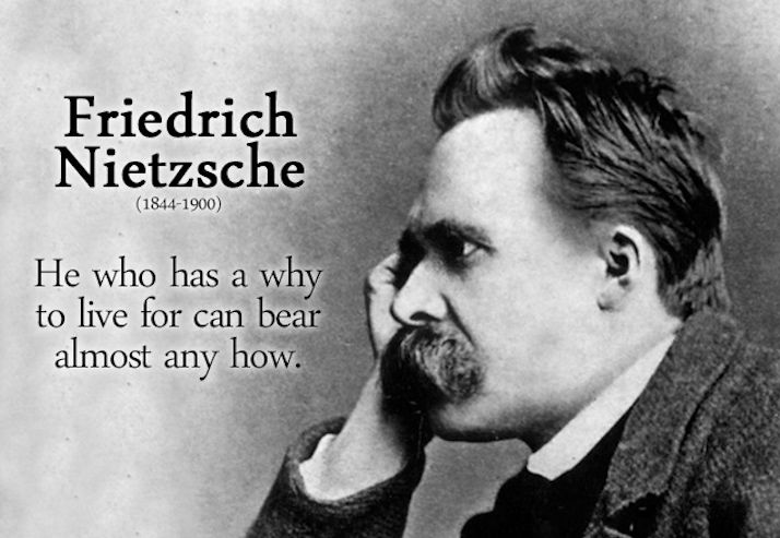 """""""He who has a why to live can bear almost any how"""" says Nietzsche, German philosopher, cultural critic, poet, and philologist. Most of the time what we do is of no importance, but why we do it is p…"""