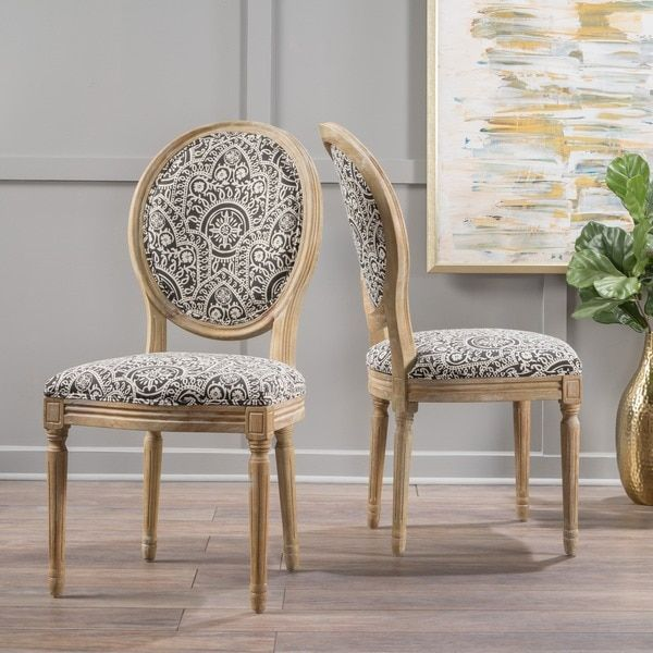 7 Best Fabric Dining Chairs Images On Pinterest  Dining Chair Set Beauteous Patterned Dining Room Chairs Review