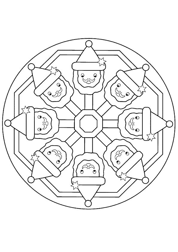 the 25+ best mandala noel ideas on pinterest | pages coloriages