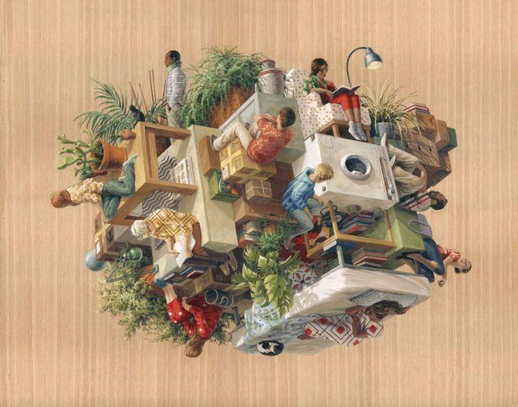 L'univers en 3D surréaliste de l'artiste Cinta Vidal