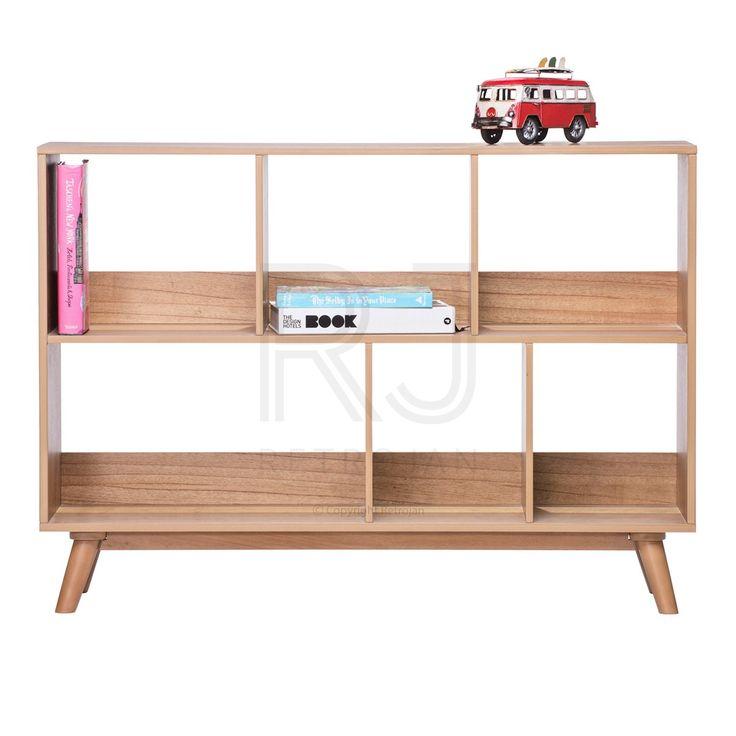 Haakon Scandinavian Style Bookshelf