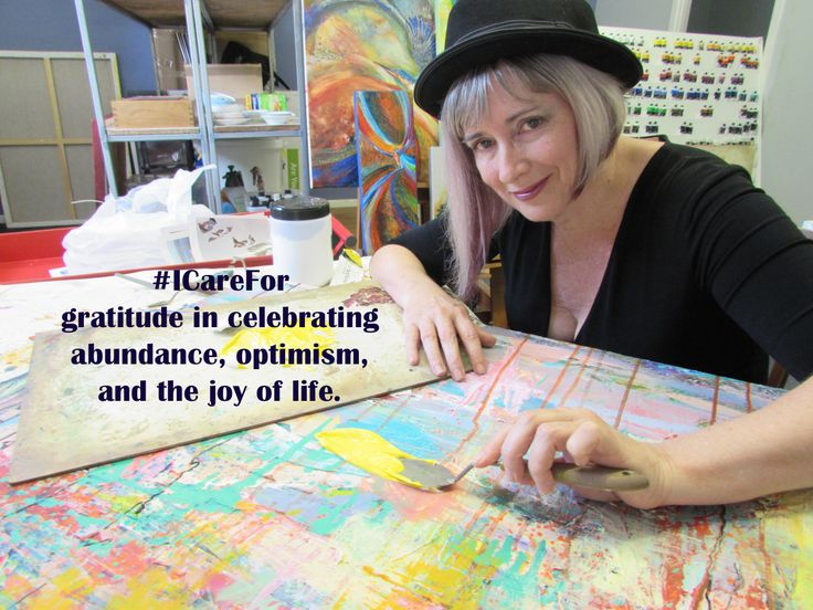 My name is De Gillett. I'm a painter, and I also teach painting and drawing at Arts Tree, an art school at Wynnum West in Brisbane. My practice is all about colour, celebration, motion and emotion!  I care for gratitude in celebrating abundance,...