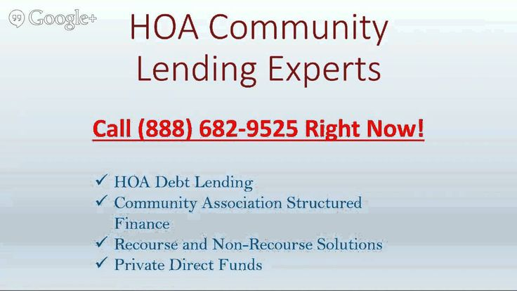 (adsbygoogle = window.adsbygoogle || []).push();           (adsbygoogle = window.adsbygoogle || []).push();  HOA Lending and Community Association Loans are the type of non-recourse and recourse structured financing that we provide to our valued borrowers and clients. We help...