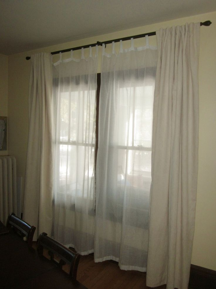 The 25 Best Double Window Curtains Ideas On Pinterest Living Room Curtains Window Curtains