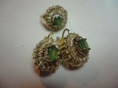 SOLD High-end Soviet Gold Jewellery