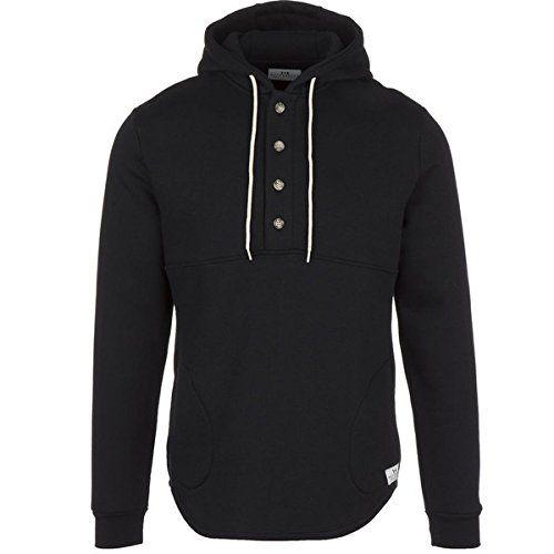 (マトンヘッド) Muttonhead メンズ トップス トレーナー・パーカー Camping Hooded Fleece Pullover 並行輸入品  新品【取り寄せ商品のため、お届けまでに2週間前後かかります。】 カラー:Black カラー:ブラック