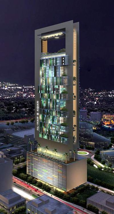 Name of building- Al Sharq  Type- Office Use  Location- Bahrain  Type- Future Project  Covered Area- 56,400sq.m