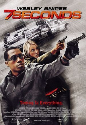 7 Seconds Movie Poster 17x24 Used Wesley Snipes Seven
