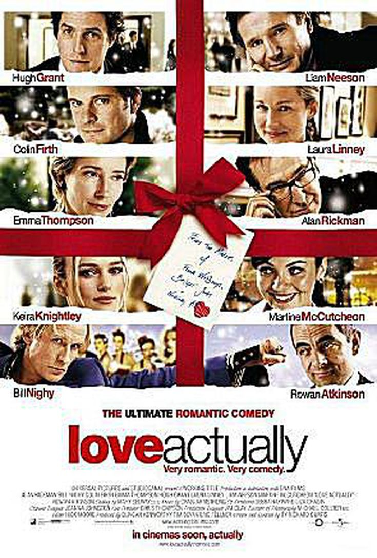 The Top 100 Christmas Songs Best Christmas Movies Love Actually Love Actually 2003