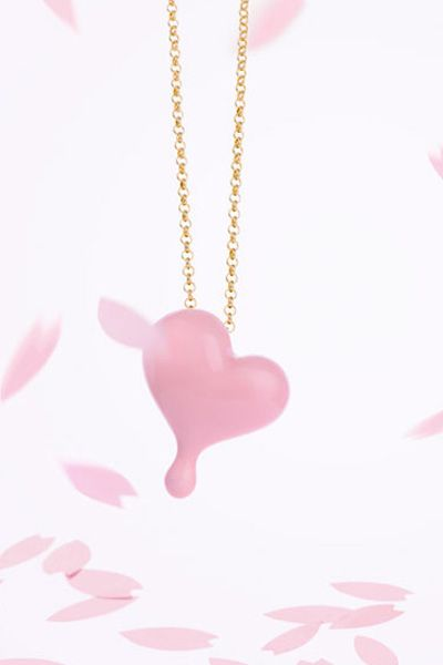 Gift idea- B'loved ceramic alloy heart pendant necklace, Fun Jewerllery, Love expression ! http://www.lastyleloft.com/online/shop-by-designer/angs/