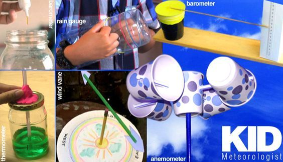 E is for Explore!: Kid Meteorologist.... Lots of hands-on weather experiments