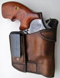 Side Guard Holsters - IWB Leather Holsters