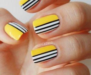 amarillo, negro y blanco. - rayas