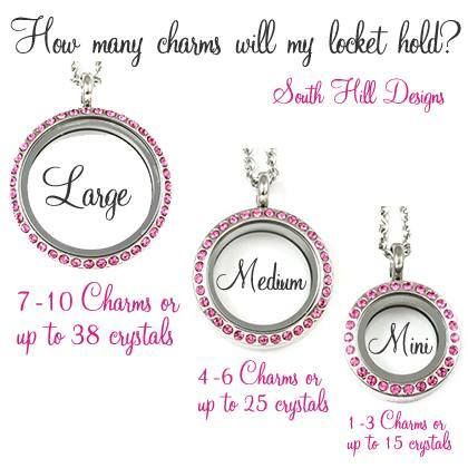 How many charms will fit?