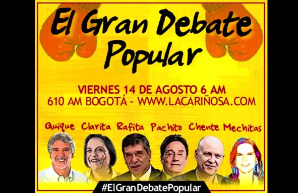 gran debate popular La Cariñosa