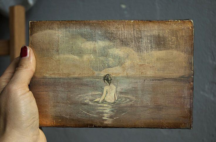SILVER GEISHA AUTHOR'S PAINTINGS Ania od lat maluje jedne z najcieplejszych obrazów olejnych jakie miałem okazję oglądać. Warto poznać jej twórczość. Jest też znakomitym pedagogiem. Prowadzi warsztaty z rysunku i kompozycji.
