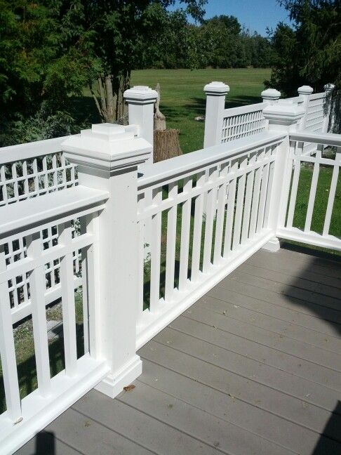 Best 67 Best Deck Rail Good And Bad Images On Pinterest Banister Ideas Banisters And Deck Balusters 400 x 300