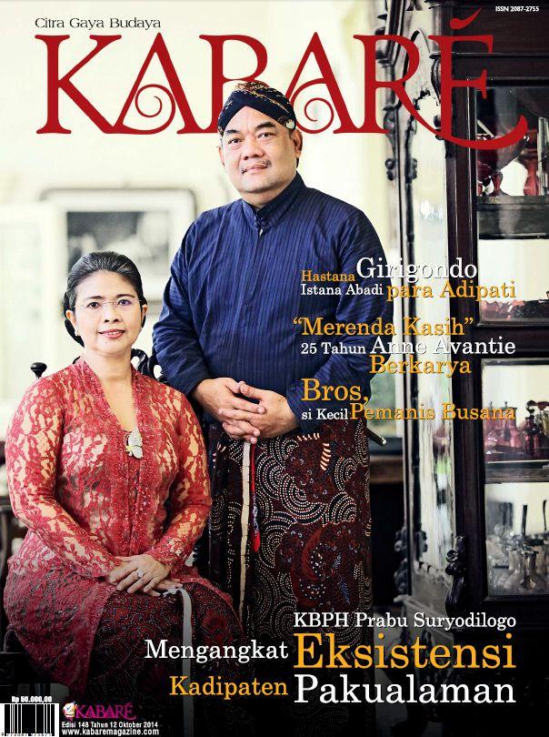 Kabare Magazine edisi Oktober 2014