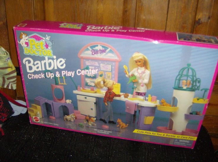 Vintage 1996 Barbie Playset PET DOCTOR CHECKUP AND PLAY CENTER Sealed NRFB | eBay
