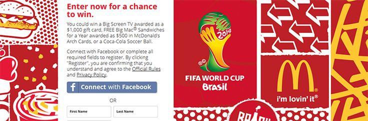 Coca-Cola & McDonald's Soccer Instant Win Game