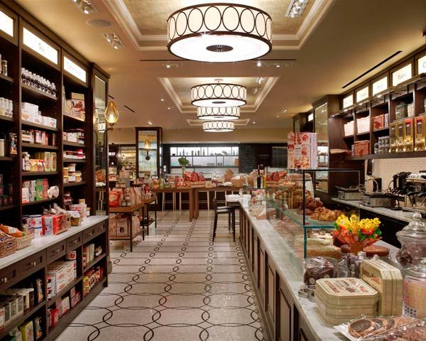 Chef Todd English's Plaza Food Hall is located in the basement of New York's famed Plaza Hotel.