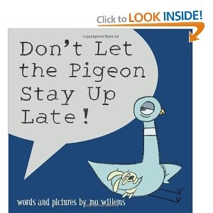 Don't Let the Pigeon Stay Up Late -- persuasive pigeon