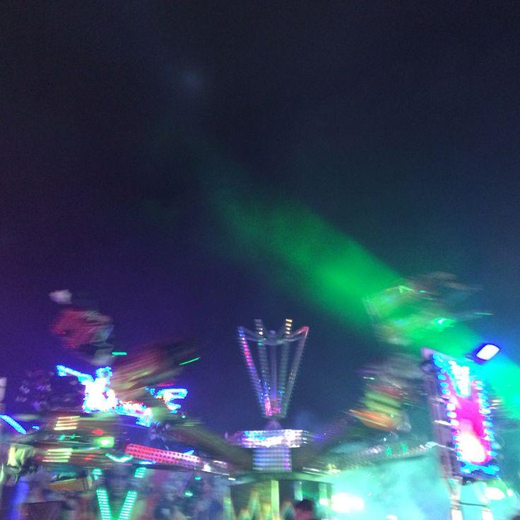 Hull fair lights