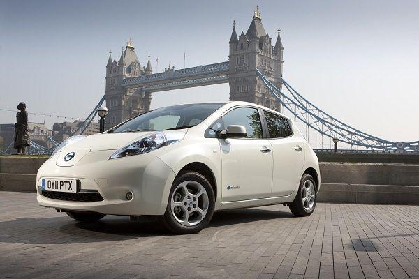 Nissan Leaf - #London