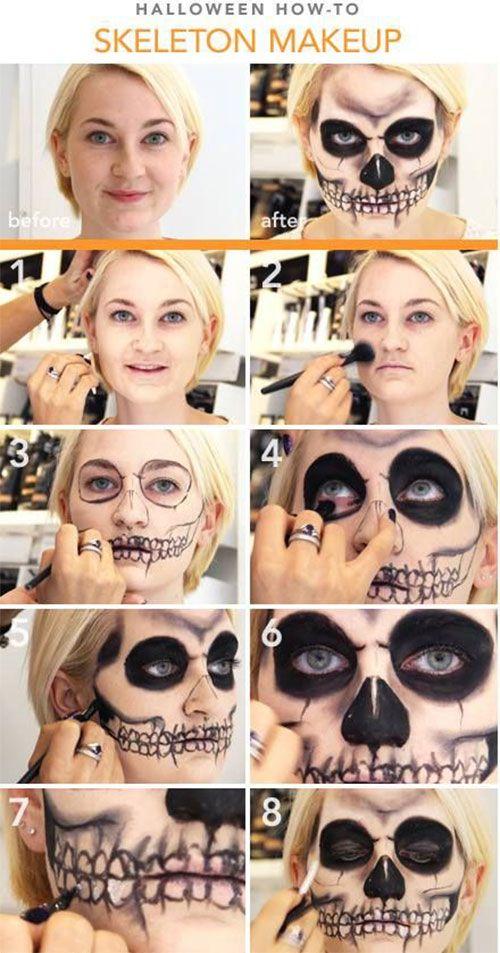 Halloween Make Up Tutorials For Beginners