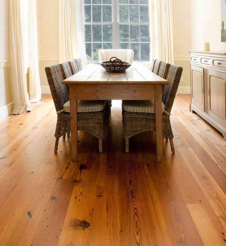 Heart Pine Floors   Renick Millworks Reclaimed Antique Wood Flooring
