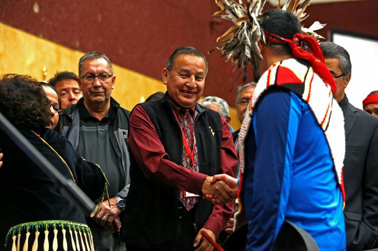 Dozens Of U.S., Canadian Tribes Unite Against Proposed Oil Pipelines : The Two-Way : NPR