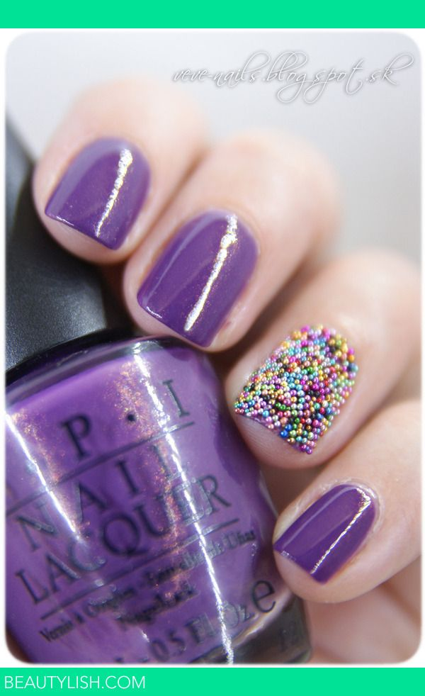 Caviar Manicure | Nails Maniac V.'s Photo | Beautylish