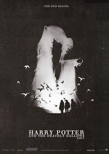 Really cool Harry Potter and the Deathly Hallows: Part 1 poster. - Imgur
