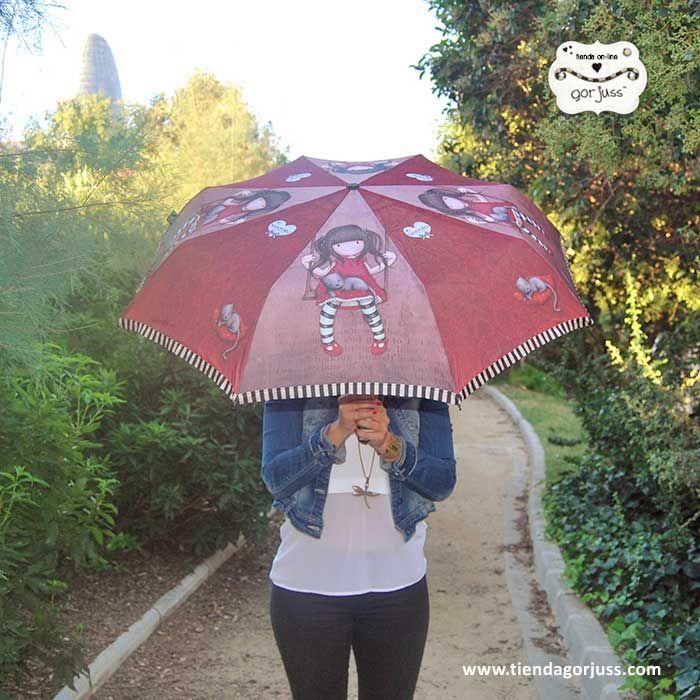 Con los paraguas Gorjuss te encantarán los días de lluvia,  ¡además hasta el lunes están rebajados! https://www.tiendagorjuss.com