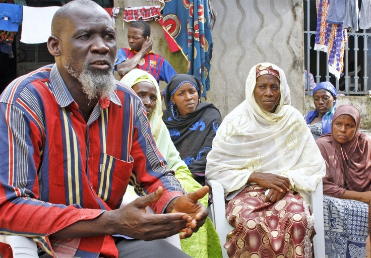 Guineans say they still face abuses by police and gendarmes. This man said his son was shot dead by a gendarme during clashes on 22 September 2012