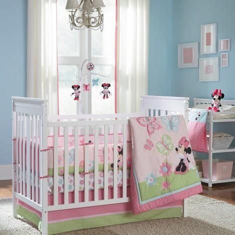 1000 ideas about minnie mouse bedding on pinterest. Black Bedroom Furniture Sets. Home Design Ideas