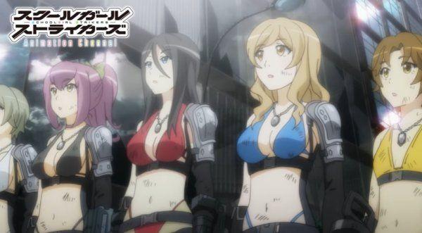 Eighth 'Schoolgirl Strikers' Anime Episode Previewed