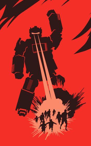 How to Survive a Robot Uprising by Daniel H Wilson  Design & Illustration - www.elhorno.co.uk