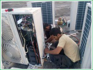 Perbaikan AC di kawasan Tangerang