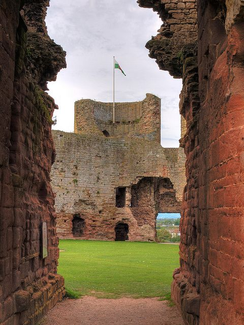 I will never forget Rhuddlan Castle - Bangor, Wales